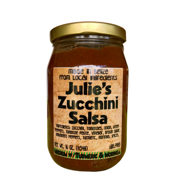 Julie's Zucchini Salsa Medium - Turmeric (4574180114537)