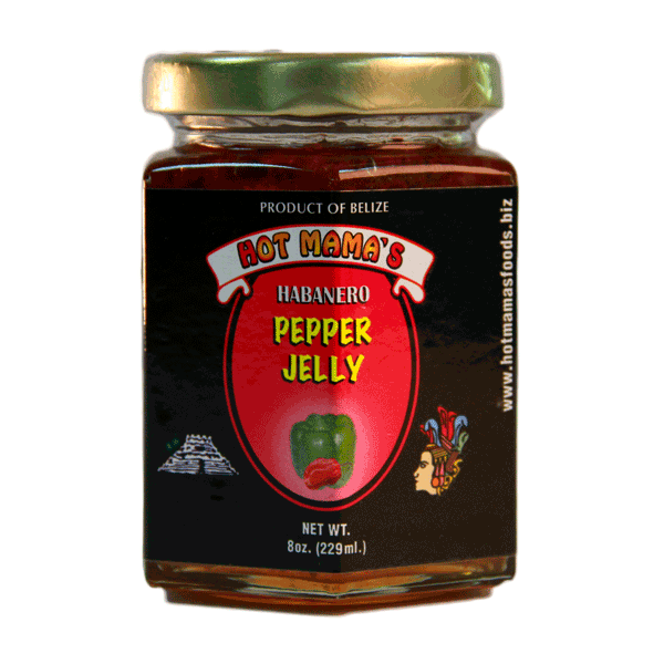 Hot Mama's Belize Habanero Pepper Jelly 8oz