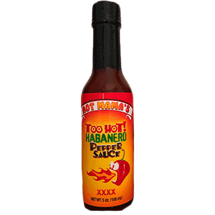 Hot Mama's Belize Too Hot Pepper Sauce 5oz