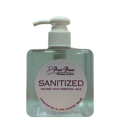 Hand Sanitizer Infused with Essential Oil - 8oz