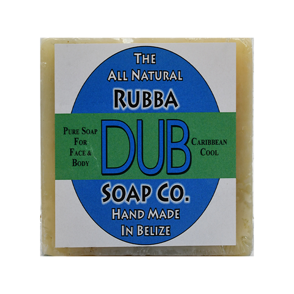 Rubba Dub Soap: Caribbean Cool (4495743254633)
