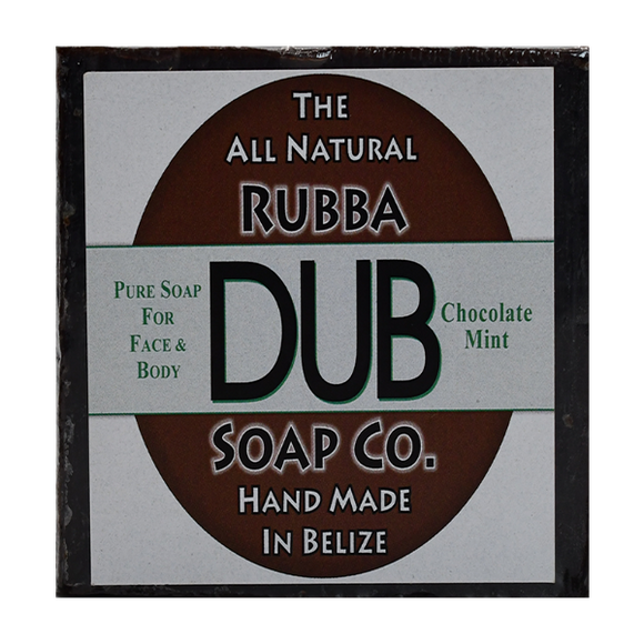 Rubba Dub Soap: Chocolate Mint (4495743189097)