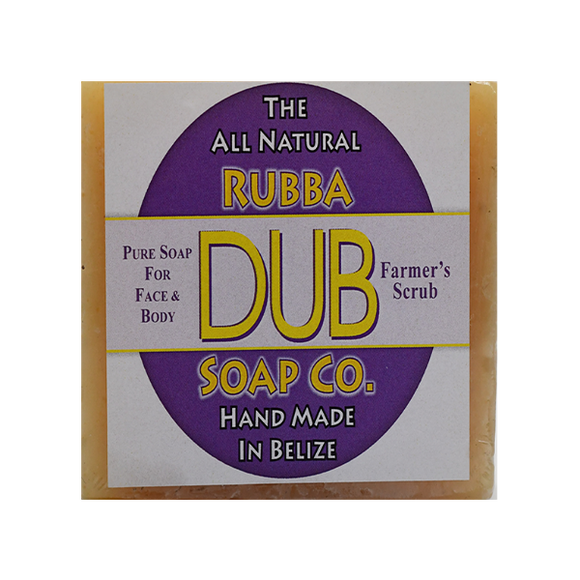Rubba Dub Soap: Farmer's Scrub (4495742959721)