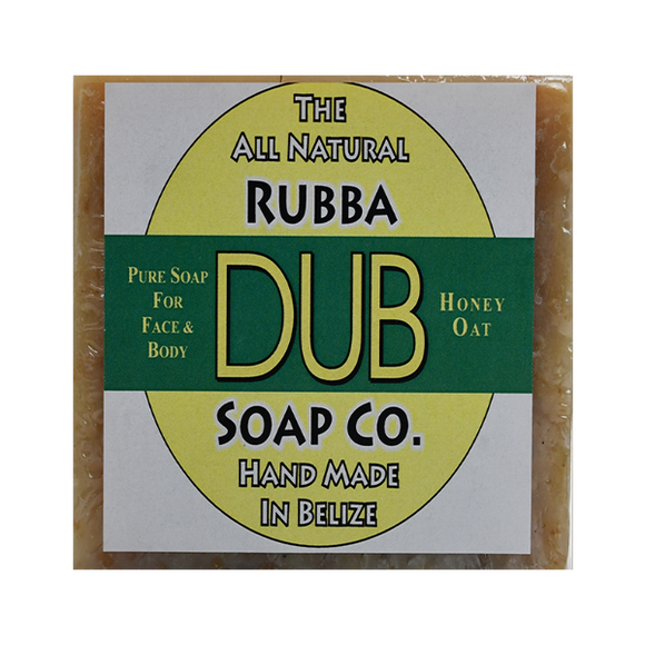 Rubba Dub Soap: Honey Oat (4495742795881)