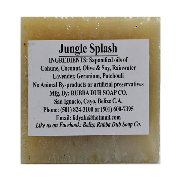 Rubba Dub Soap: Jungle Splash