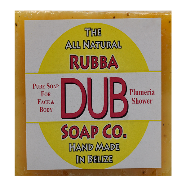 Rubba Dub Soap: Plumeria Shower