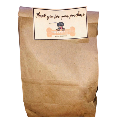 8oz Peanut Butter Doggy Treats