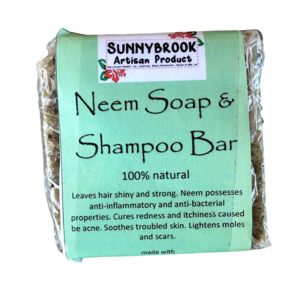 Neem Soap & Shampoo Bar