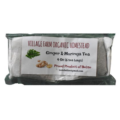 Village Farm Ginger Moringa Tea