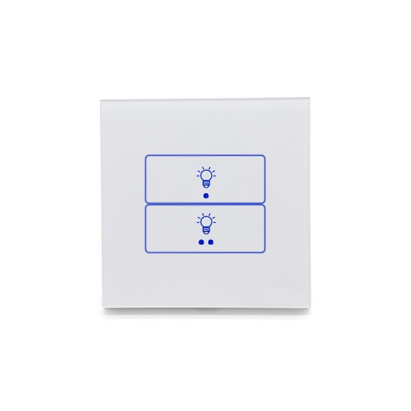 Smart Wifi Light Switch (double) - European Style