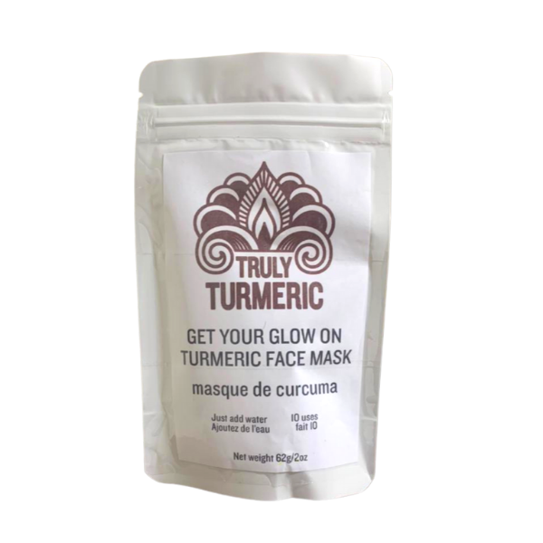 Get Your Glow On Turmeric Face Mask