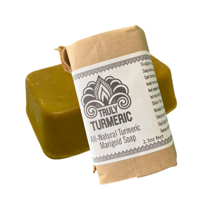 All-Natural Turmeric and Marigold Soap