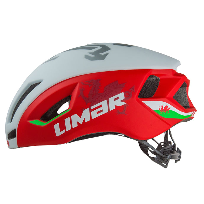 Limar Air Speed Wales Special Edition Road Helmet With Magnetic Buckle