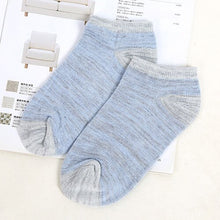 Load image into Gallery viewer, Urgot 10pcs=5 Pairs Men Short Socks Vintage Nation Style Casual Ankle Socks Men's Low Cut Absorb Sweat Male Boat Socks Meias Sox