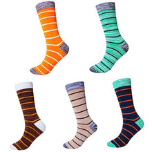Load image into Gallery viewer, Urgot 5 Pairs Mens Socks Large Big Plus Size 45,46,47,48 Crew Long Tube Socks Spring Autumn Cotton Thickening Male Happy Socks