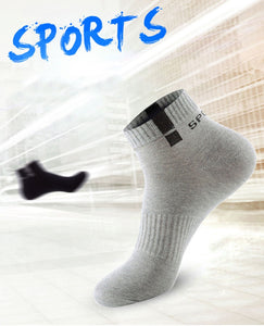 Urgot 5 Pairs/lot Spring Autumn Men's Long Tube Cotton Socks Men Sweat-absorbent Casual Deodorant Sports Socks Meias Wholesale