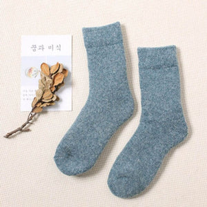Urgot 3 Pairs Super Thicker Socks Women Merino Wool Rabbit Socks Against Cold Snow Russia Winter Warm Female Women's Socks Meias