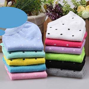Urgot 20pieces=10 Pairs/lot Candy Colors Women Ankle Socks Funny Cute Solid color Boat Socks Womens Lady Girl Art Sock Short Sox