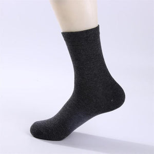 Urgot 10 Pairs/lot 2020 Mens Cotton Socks New styles Black Business Men Socks Breathable Autumn Winter for Male Meias Calcetines