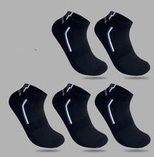 Load image into Gallery viewer, 5 Pairs/lot Men Socks Stretchy Shaping Teenagers Short Sock Suit for All Season Non-slip Durable Male Socks Hosiery