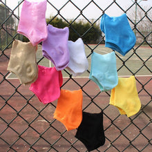Load image into Gallery viewer, Urgot 10 Pairs Women's Boat Socks Cotton Female Spring Summer Thin Section Girls Sock Solid Color Shallow Mouth Ankle Socks Sox