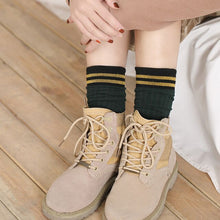 Load image into Gallery viewer, Urgot 5 Pairs Women Socks Spring Autumn Pile Female Tube Cotton Socks Cute Lady Sweat-absorbent Warm Comfort Socks Meias Hosiery