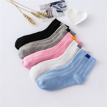 Load image into Gallery viewer, Urgot 10 Pairs Candy Solid Color Women Casual Socks Wholesale Spring Autumn Sports Models Korean College Style Socks Keep Warm