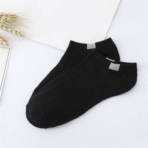 Urgot 10 Pairs/lot Women's Socks Invisible Candy Color Harajuku Sock Shallow Mouth Anti-skidding Cotton Boat Socks Women Meias