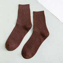 Load image into Gallery viewer, Urgot 3 Pairs/lot Men's Socks All Seasons Double Needles Long Tube Sock Cotton Deodorant Business Fashion Cotton Socks Men Meias
