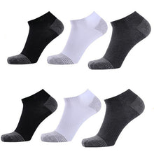 Load image into Gallery viewer, Urgot 6 Pairs Men's Socks Deodorant High Stretchy Quality Cotton Socks Large Big Plus Size 46,47,48 Gift Box Calcetines Hombre