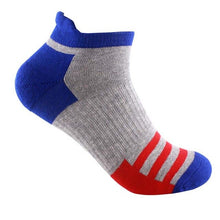 Load image into Gallery viewer, 5 Pairs Men Socks Cotton Professional Sporting Sock Protect Feet Breathable Wicking Socks Spring Winter Comfort Socks Calcetines