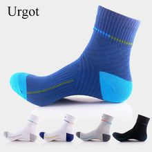 Load image into Gallery viewer, Urgot 5 Pairs Men's Sports Socks Male Adult Street Basket Ball Socks Long Tube Men Sock Meias Calcetines Hombre Breathable Soft