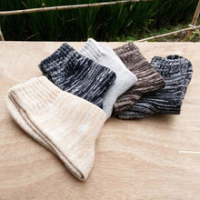 Load image into Gallery viewer, Urgot High Quality 5 Pairs Mens Warm Winter Socks Soft Cashmere Warm Sock Rabbit Wool Socks Winter Thermal Breathable Calcetines
