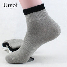 Load image into Gallery viewer, Urgot 5 Pairs Men's Spring Autumn Long Tube Cotton Socks Men Breathable Casual Elastic Sports Socks Male Boys Meias Calcetines