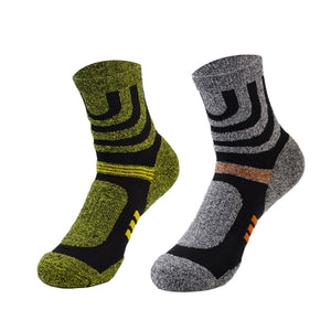 (5 pairs/lot) Quality Professional Comfortable Elasticity Breathable Thick Trekking Riding Bicycle Men Brand Socks Meias Sokken