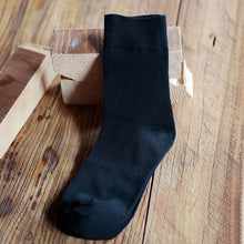 Load image into Gallery viewer, 5 Pairs/lot Men's Socks Factory Price Fashion Casual Solid Color Male Short Socks Anti-friction Shaping Cotton Sock Meias 39-43