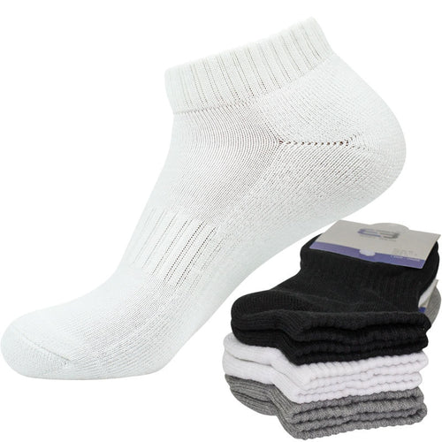3 Pairs Men Women Whole Towel Terry Winter Warm Ankle Socks Cotton Brief Invisible Thick Socks Shallow Mouth No Show Socks Meias