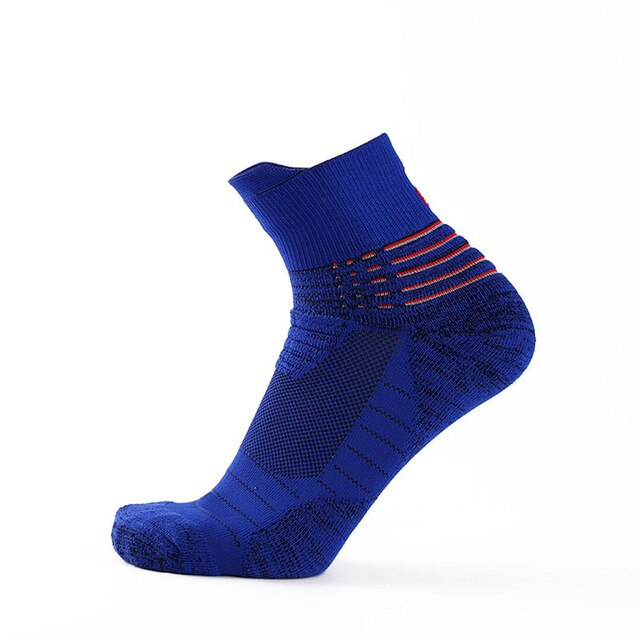 Urgot 3 Pairs Men Socks Breathable Sweat Non-slip Shock Absorption Socks Men Professional Basket Ball Durable Cotton Socks Meias