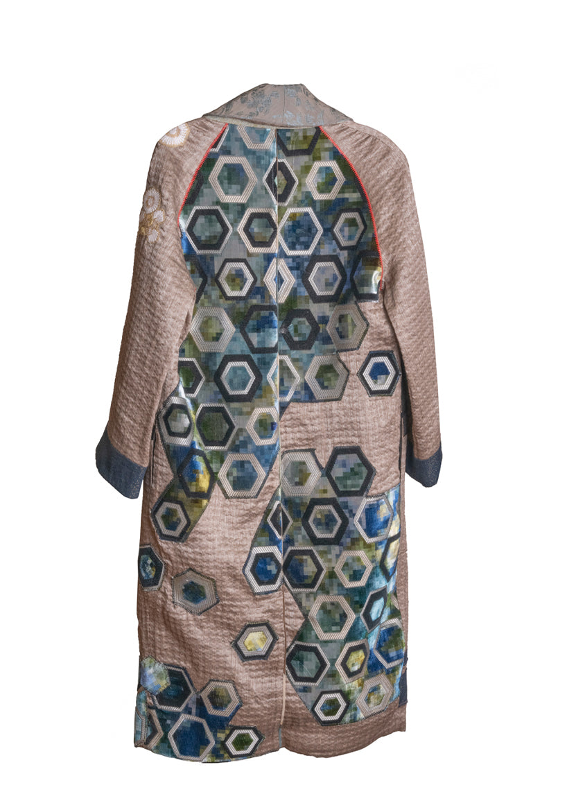 The Dolce Vita Coat - Honeycomb