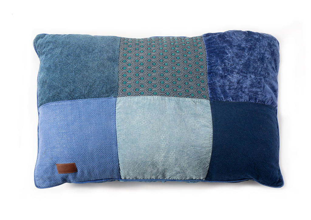 BFF Pillow - Rectangle - Blue 04
