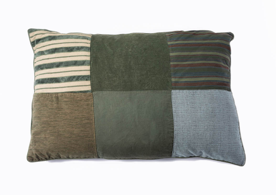 BFF Pillow - Rectangle - Green 04