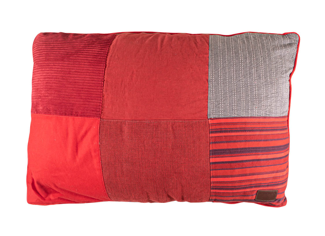 BFF Pet Pillow - Rectangle - Red 02