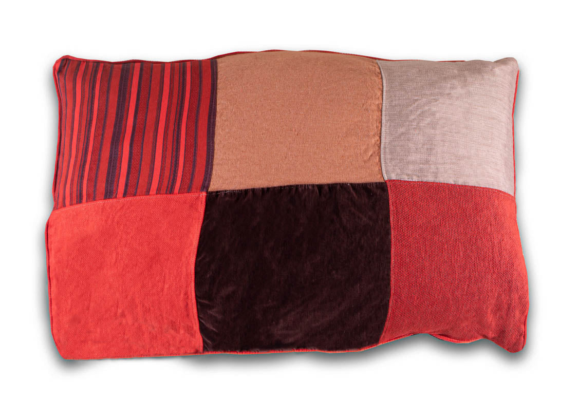 BFF Pet Pillow - Rectangle - Red 04