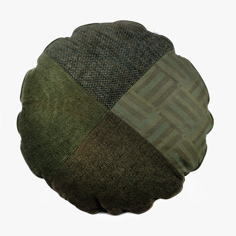 BFF Pet Pillow - Round - Green 05