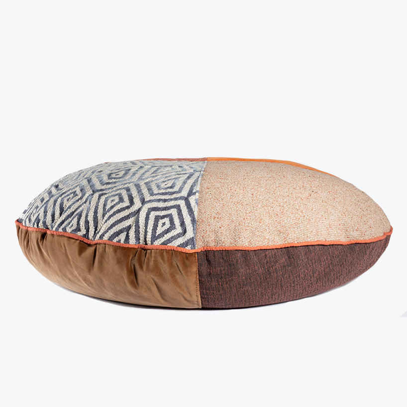 BFF Pet Pillow - Round - Orange 01