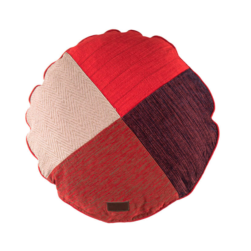 BFF Pillow - Round - Red 03