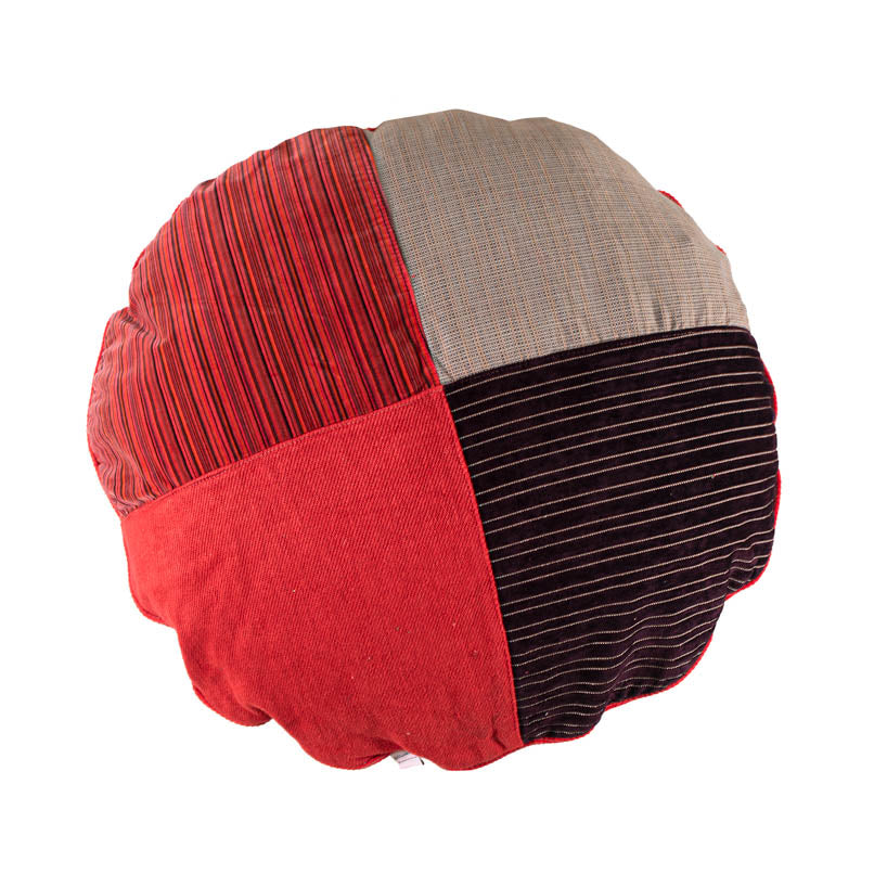 BFF Pet Pillow - Round - Red 05