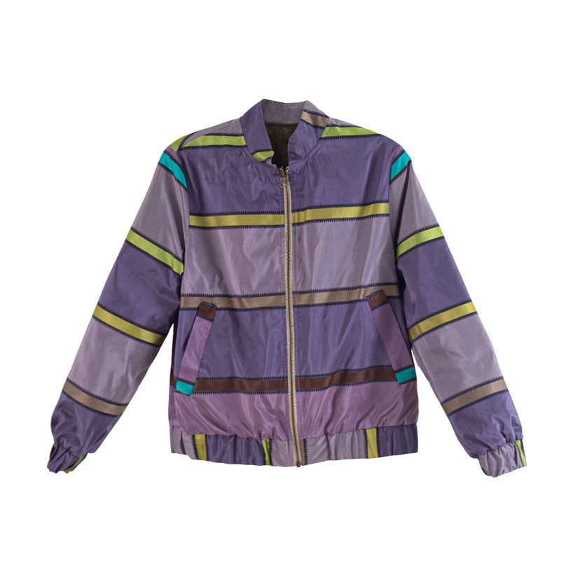 The Elle Bomber - Reversible - Purple