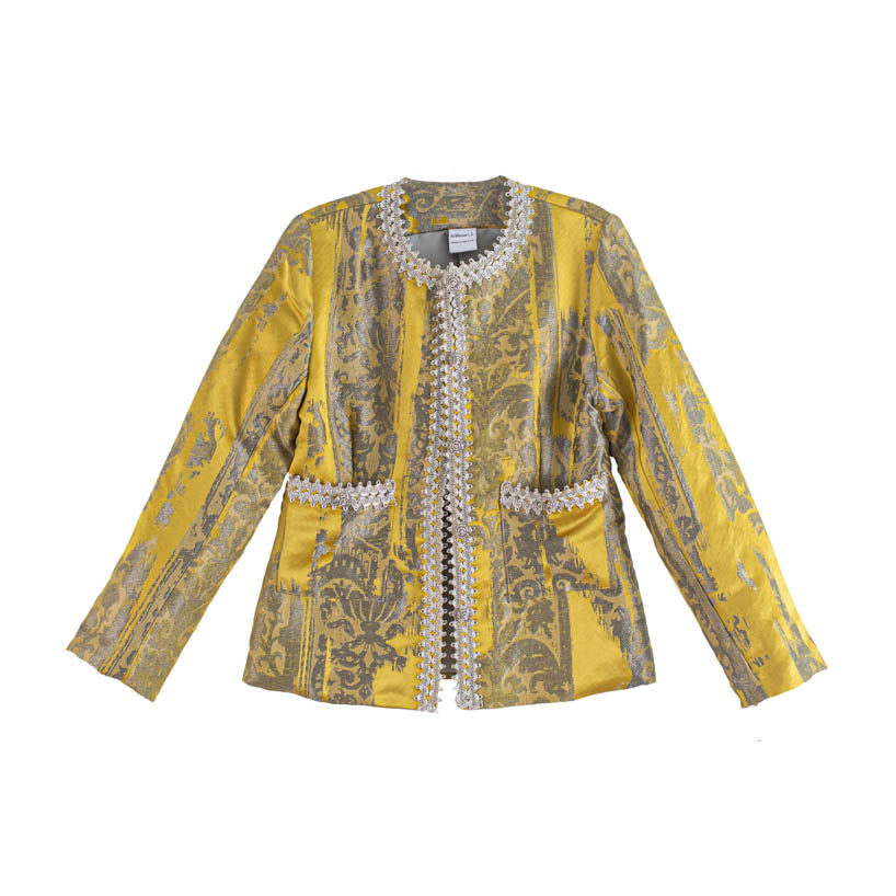The Hilda Jacket - Yellow
