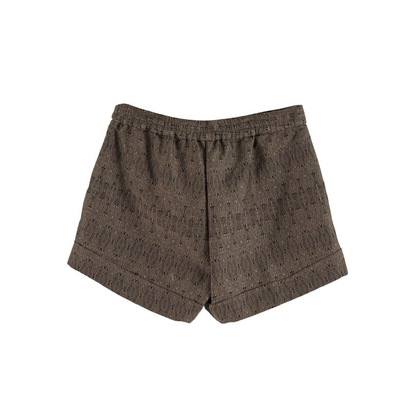The Kate Shorts - Black/Tan